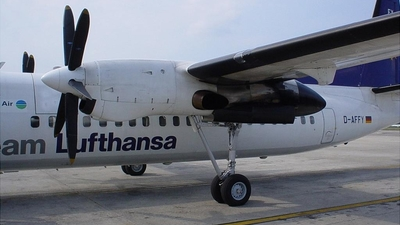 D-AFFY - Fokker 50 - Team Lufthansa (Contact Air)