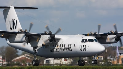 C-FZKM - De Havilland Canada DHC-7-102 Dash 7 - United Nations (Voyageur Airways)