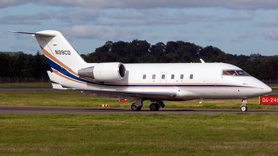 N39CD - Bombardier CL-600-2A12 Challenger 601 - Private