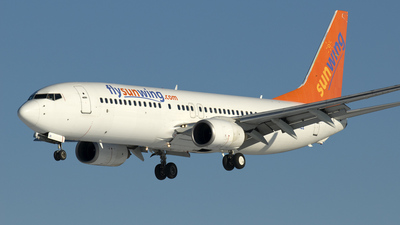 PH-HZE - Boeing 737-8K2 - Sunwing Airlines (Transavia Airlines)