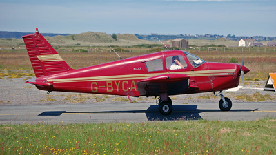G-BYCA - Piper PA-28-140 Cherokee D - Private
