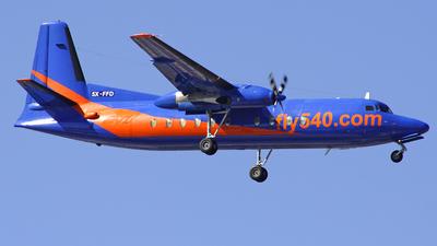5X-FFD - Fokker F27-500F Friendship - Fly540