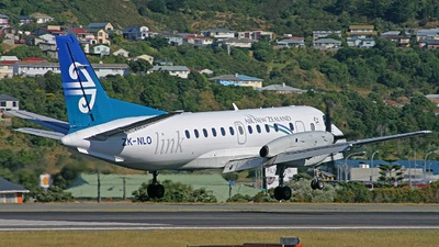 ZK-NLO - Saab 340A - Air New Zealand Link (Air Nelson)