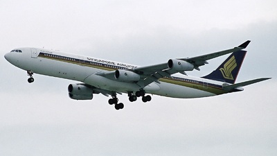 9V-SJK - Airbus A340-313X - Singapore Airlines