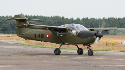 T-418 - Saab T-17 Supporter - Denmark - Air Force