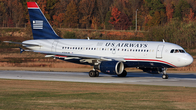 N708UW - Airbus A319-112 - US Airways