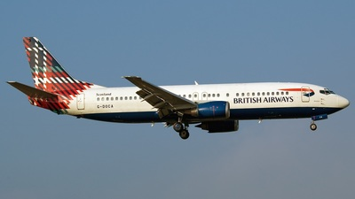 G-DOCA - Boeing 737-436 - British Airways