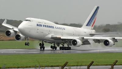 F-GISB - Boeing 747-428(BCF) - Air France Cargo