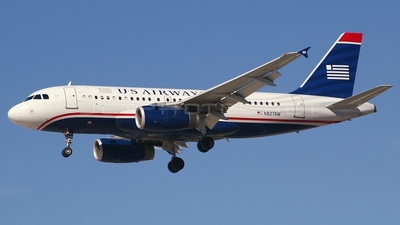 N827AW - Airbus A319-132 - US Airways (America West Airlines)