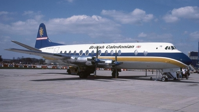 G-AOYR - Vickers Viscount 806 - British Air Ferries (BAF)