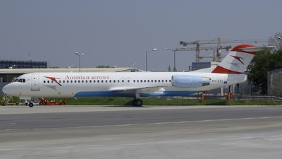 PH-ZFL - Fokker 100 - Austrian Arrows
