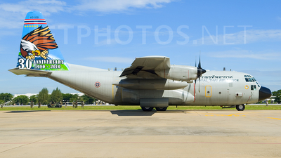 L8-8/33 - Lockheed C-130H Hercules - Thailand - Royal Thai Air Force