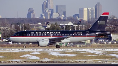 N738US - Airbus A319-112 - US Airways