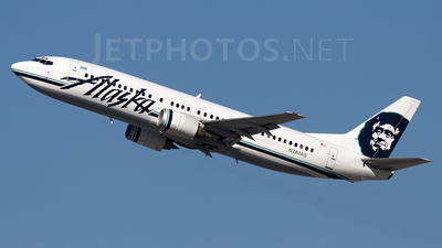 N780AS - Boeing 737-4Q8 - Alaska Airlines