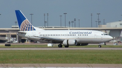 N14639 - Boeing 737-524 - Continental Airlines