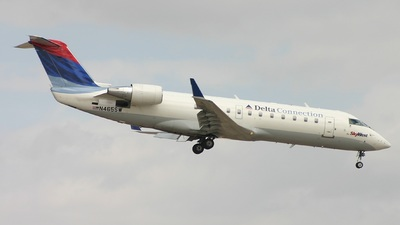 N465SW - Bombardier CRJ-200ER - Delta Connection (SkyWest Airlines)