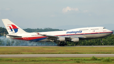 9M-MPF - Boeing 747-4H6 - Malaysia Airlines