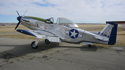 C-FJKA - Titan T-51 Mustang - Private