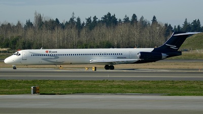 N932AS - McDonnell Douglas MD-83 - Ryan International Airlines