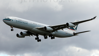 B-HXE - Airbus A340-313X - Cathay Pacific Airways