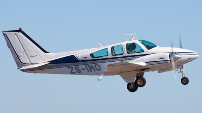 ZS-IMO - Beechcraft 95-B55 Baron - Private