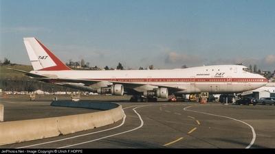 N7470 - Boeing 747-121 - Boeing Company