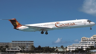 PJ-SEF - McDonnell Douglas MD-82 - Dutch Caribbean Airlines (DCA)