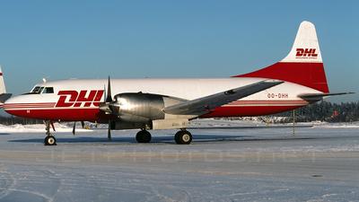 OO-DHH - Convair CV-580(F)(SCD) - DHL (European Air Transport)