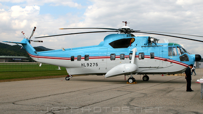 HL9275 - Sikorsky S-61N - Tongil Air Systems