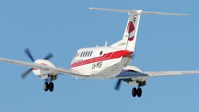 LN-MOF - Beechcraft B200 Super King Air - Lufttransport