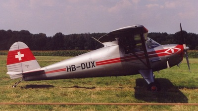 HB-DUX - Luscombe 8A Silvaire - Private