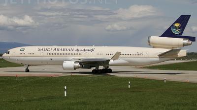 A picture of HZHM7 - McDonnell Douglas MD11 - [48532] - © Stéphane Mutzenberg