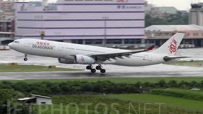 B-HWI - Airbus A330-343 - Dragonair