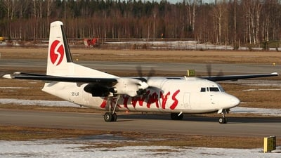 SE-LIR - Fokker 50 - Skyways