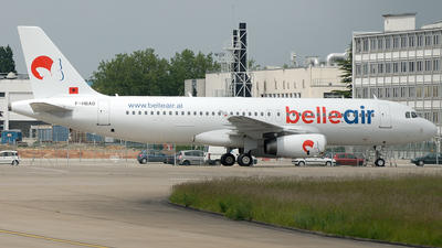 F-HBAD - Airbus A320-233 - Belle Air