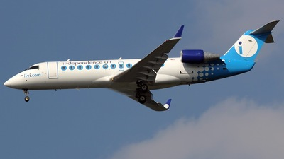 N624BR - Bombardier CRJ-200ER - Independence Air