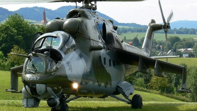 7357 - Mil Mi-24V Hind E - Czech Republic - Air Force