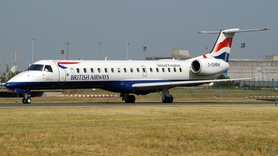 G-EMBM - Embraer ERJ-145EU - British Airways (CityFlyer Express)