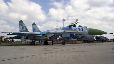 30 - Sukhoi Su-27 Flanker - Ukraine - Air Force