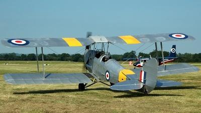 G-ANJA - De Havilland DH-82A Tiger Moth - The Tiger Club