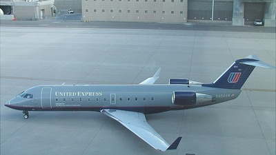 N404AW - Bombardier CRJ-200ER - United Express (Air Wisconsin)