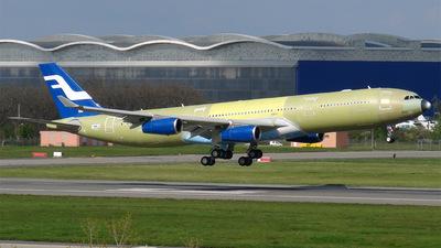 F-WWJG - Airbus A340-313E - Airbus Industrie