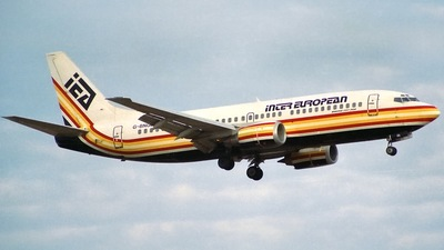 G-BNGL - Boeing 737-3Y0 - Inter European Airways