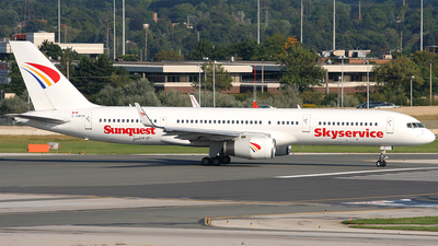 C-GMYH - Boeing 757-236 - Skyservice Airlines