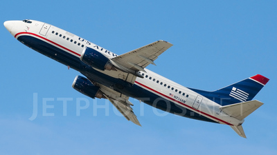 N334AW - Boeing 737-3Y0 - US Airways