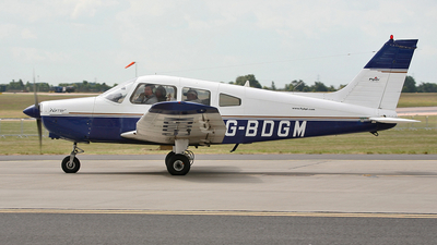 G-BDGM - Piper PA-28-151 Cherokee Warrior - Private