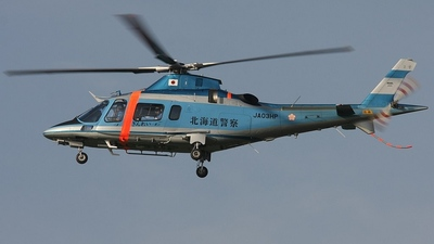 JA03HP - Agusta A109E Power - Japan - Police