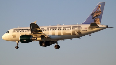 N948FR - Airbus A319-111 - Frontier Airlines