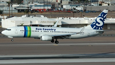 PH-HZY - Boeing 737-8K2 - Sun Country Airlines (Transavia Airlines)
