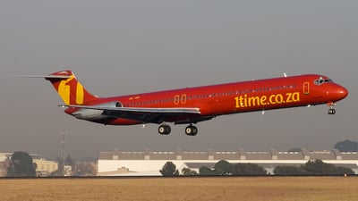 ZS-TRF - McDonnell Douglas MD-82 - 1Time Airline